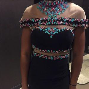 Rachel Allan Beaded Prom/Pageant Dress